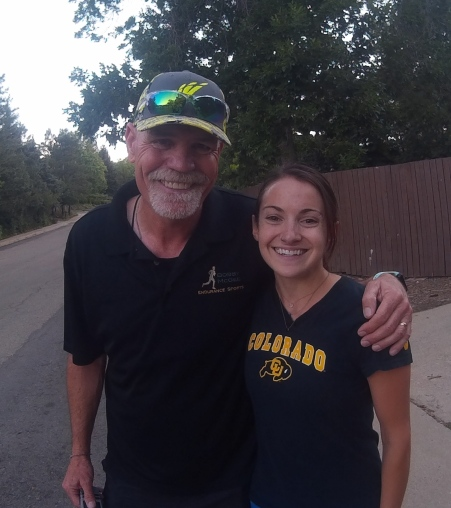 Bobby with Marisa of Stryd